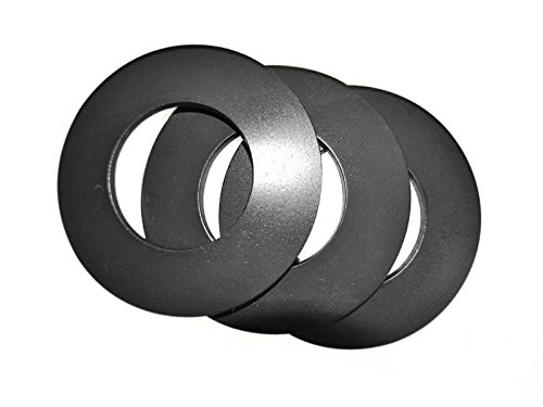 A pack of stainless steel, Belleville Washers.