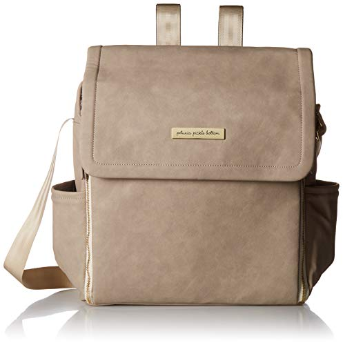 Petunia Pickle Bottom Boxy Backpack, Grey Matte Leatherette by Petunia Pickle Bottom (Image #7)