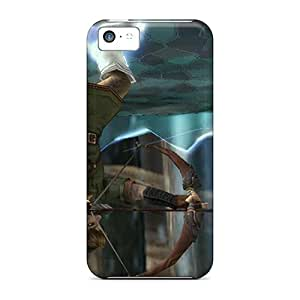 New PEfzg3126xojxW The Legend Of Zelda Skin Case Cover Shatterproof Case For Iphone 5c