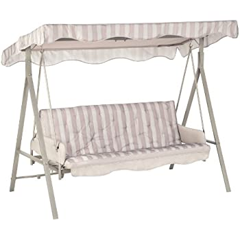 Replacement Canopy For Garden Treasures 3 Person Swing   RipLock 350