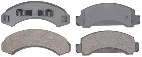 ACDelco 14D249M Advantage Semi-Metallic Front Disc Brake Pad Set