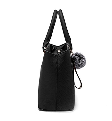Package Black Capacity Shoulder Slanted Cross Handbag Women'S Large Single wx8I7qq4