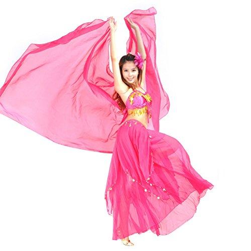Bond Girl Costume Dress (Fedi Apparel Women's Chiffon Shawl Veil Scarf Belly Dance Dancing Costumes Dress)