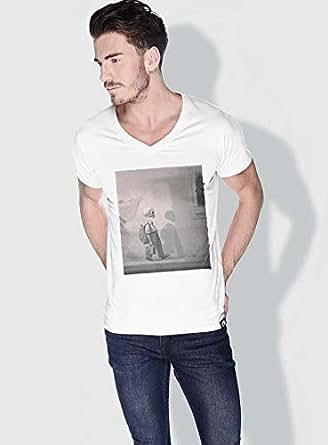 Creo Kid Skulls T-Shirts For Men - S, White