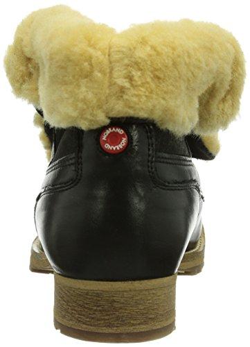 Length Haint Boots 03 Lined Women's Tarmac NOBRAND Half Schwarz 10020S Biker Warm xaHRc86qw