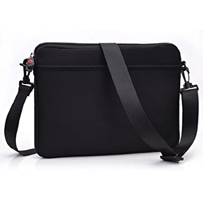 Black Neoprene Laptop Carrying Case fits Samsung Galaxy TabPro S 12-inch
