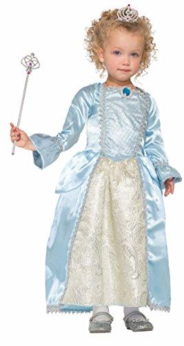 Forum Novelties Girls Princess Bella Blue Costume, Blue, Large