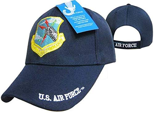 3d1a6a6af U.S. Air Force AF Strategic Air Command Blue Ball Cap Hat ...