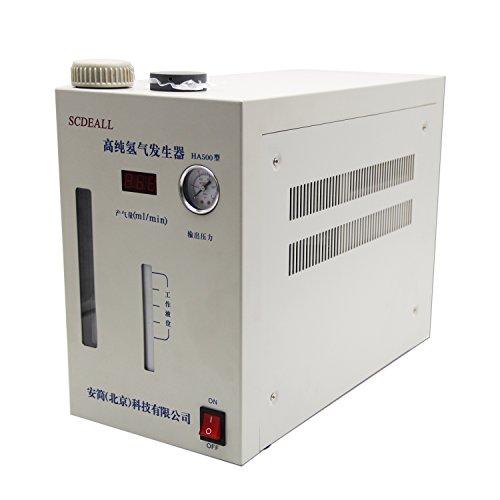 CGOLDENWALL Lab High purity Hydrogen gas generator H2: 0-500ml H2 machine (Hydrogen Gas Generator Kit)
