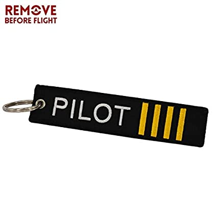Amazon.com: Key Rings Remove Before Flight Key Chain Luggage ...