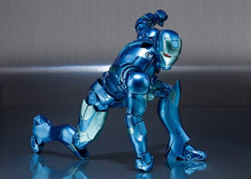 [해외] S.H.FIGUARTS 피규어츠 아이언맨 마크3 블루스텔루스  혼코믹콘