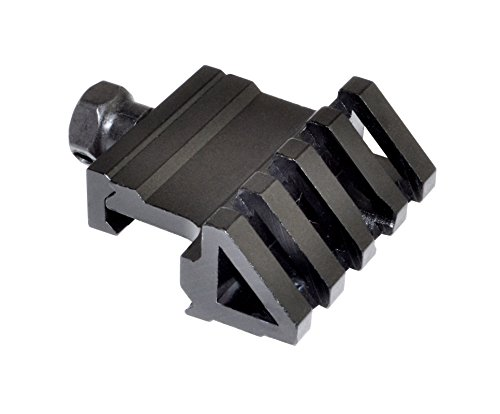 SNIPER45 Degree Offset Side Rail for Mounting Laser or Mini Red Dot or - Mount Side Red