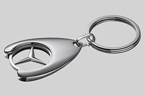 Genuine mercedes benz shopping key chain with chip buy for Mercedes benz key chain accessories