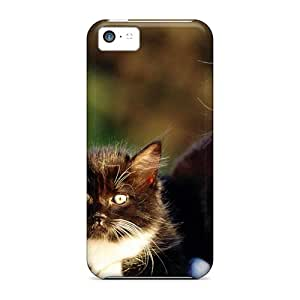For Iphone 5c Phone Cases Covers(twin Kittens)
