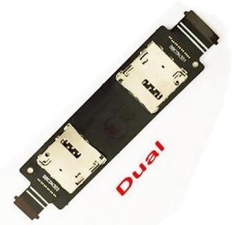 HUIFANGBU Micro SD Card /& SIM Card Reader Flex Cable for Asus Zenfone 5 A500CG