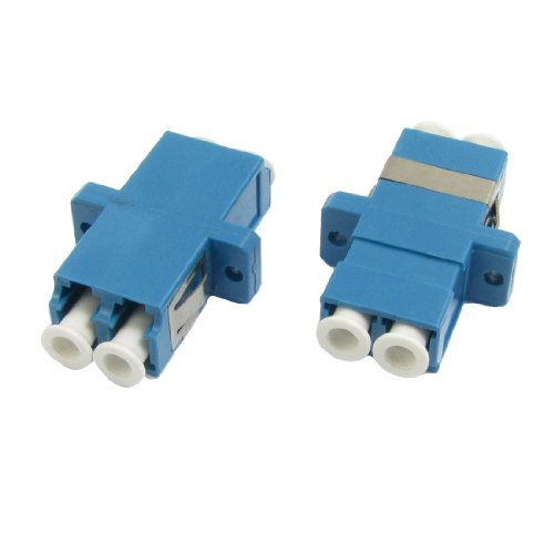 uxcell-lc-to-lc-duplex-flange-fiber-optic-connector-adapter-coupler-2-pcs