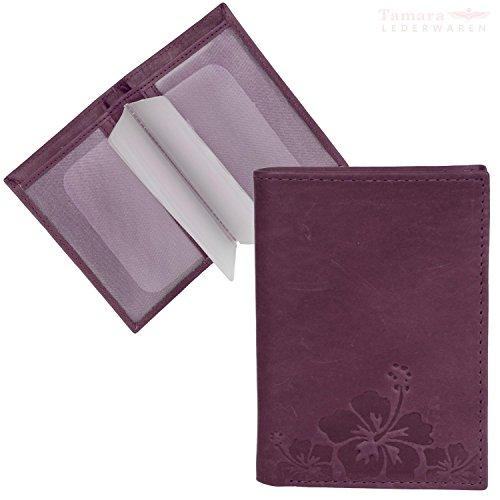 Brown 7 LEDER10 orchid x Pfeifle 1 5 HJP CM Card 7117 CM Credit Holder q7UwY1p
