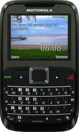 - Motorola EX431G Prepaid Phone With Triple Minutes (Tracfone)