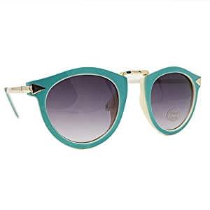 FRILLS Retro Wayfarer Kids Polarized Girls Sunglasses for Baby and Children Age 3-12 - Mint