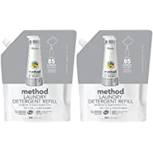 Method Laundry Detergent Refill - 34 oz - Free & Clear - 2 pk