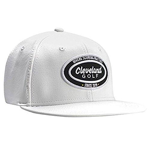 (Cleveland Golf Men's Seven 9 Golf Cap, One Size, White)