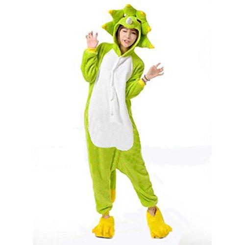 Unisex Cosplay Monster Animal Pajamas Long Sleeve Leisure Household Onesie Pajamas (Monster Onesies For Adults)