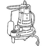 Cast Iron Automatic Effluent Pump