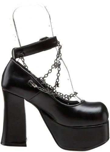 Demonia , Chaussures à talons femme - Noir - noir, 37.5