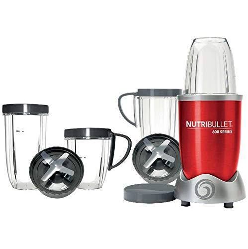 Nutribullet - Pack nutri600r Kit - Licuadora 0.95l 600 W rojo + ...