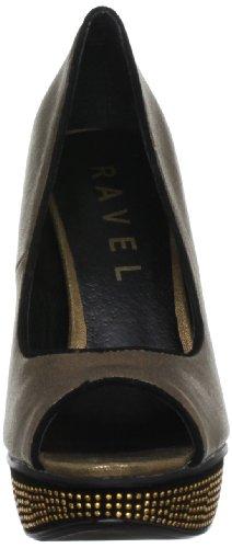 Mujer Bronze Zapatos Kirsty Marrón Ravel De Tacón wZISqR0T