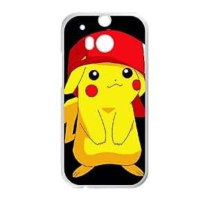 Kagm Pikachu HTC One M8 Cell Phone Case White
