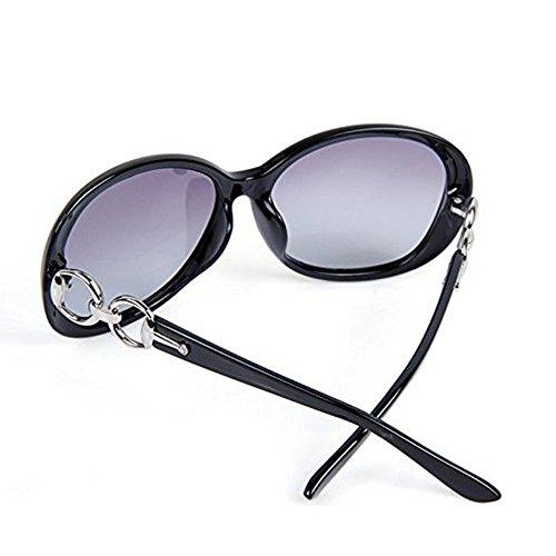 de Noir polarizadas marco gafas UV400 protección nbsp;Mode Gafas sol nbsp;– Nikgic 006 de mujer gran para wA6F47q4