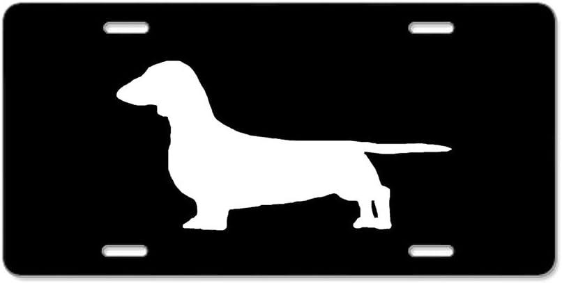 Dachshund License Plate