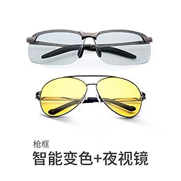 LLZTYJ Gafas De Sol Gafas Que Cambian De Color Hombre ...