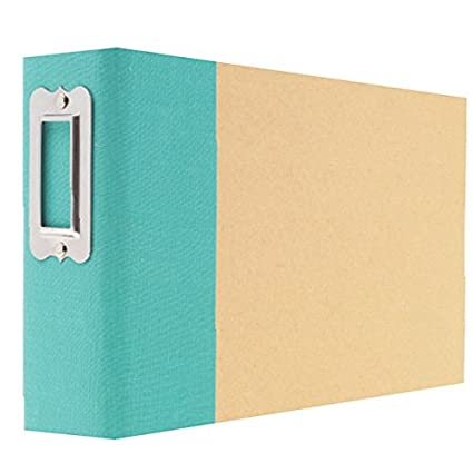 amazon com simple stories snap binder 4 6 teal arts crafts