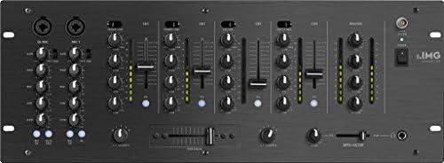 MESA DE MEZCLA DJ ESTEREO 6 CANALES IMG STAGE LINE MPX-44/SW ...