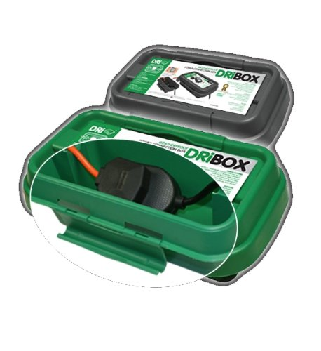 Dri-Box DRiBOX FL-1859-200G IP55 Small Weatherproof Box - Green