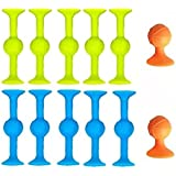 SUYPAS - Sucker Toys for Kids - 12PCS - Suction Toys, Fidget Toys Darts Funny Toy Set & Silicone Outdoor Competitive Games S