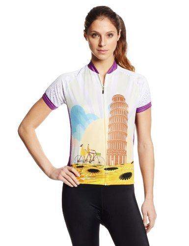 83 Sportswear Women's Pisa Cycling Jersey Multi Medium [並行輸入品]   B06XFX5H5Y