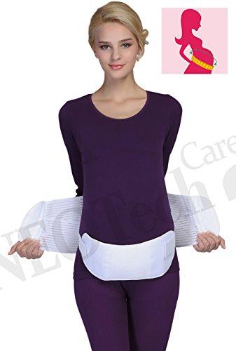 Maternity Pregnancy Support Belt/Brace - Back, Abdomen, Belly Band - NEOtech Care brand - Black - Size M by NeoTech Care (Image #9)