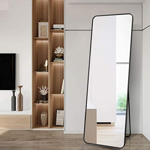 BEAUTYPEAK Full Length Mirror Standing Mirror 20×60