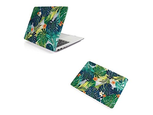 Price comparison product image Yunqir Multi-functional Colorful Flower Printing Protection Cover Skin Shell for Apple Pro 13