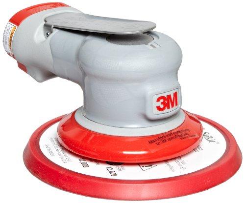 Powered Air Vacuums - 3M Random Orbital Sander - Elite Series 28500, Air-Powered, Non-Vacuum, 6 Inch, 3/16