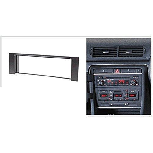 Kit Montage Adaptateur Cadre de Radio fa/çade autoradio 1 DIN Audi A4 2000-2006 System Active Active Syst/ème