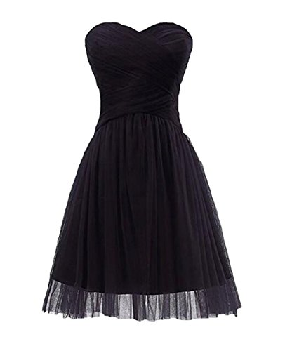 Damen 40 schwarz Kleid Gr Leader Beauty the of tYxq8P