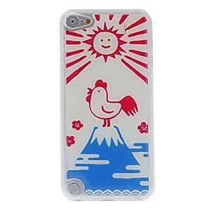compra Gallo cacareando y estuche rígido epóxico patrón sol ipod touch 5
