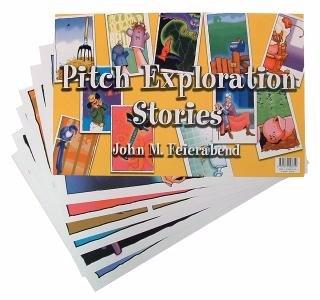 Pitch Exploration Stories Flash Card Set