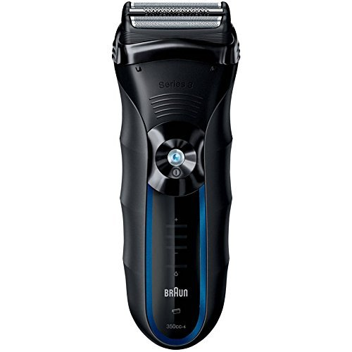 Braun 3 Series 350cc-4 Shaver, Black/Blue by Braun