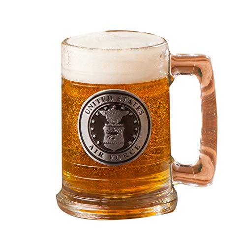 Air Force Stein - Personalized Military Emblem Steins - AirForce