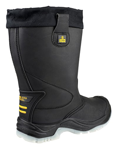 Steel 8 Black Safety FS209 Amblers Size d4qaxw7d0